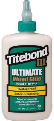 III Ultimate Wood Glue 8 Oz – Colla professionale per legno