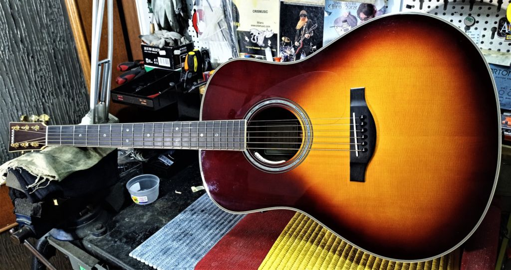Today on the bench: Yamaha LL-TA